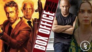Hitman's Wife's Bodyguard Tops Quiet Weekend Box Office: See Top 10