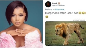 """#BBNaija: """"Hunger Don Catch Lion Ooo"""" – Reactions As Official Fan Base Name For Liquorose Is Unveiled"""