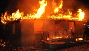 Breaking News: Another Fire Outbreak Recorded In Agboju, Near FESTAC
