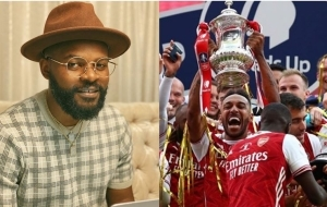 Falz Trolls Chelsea Fans After Arsenal Bagged FA Cup