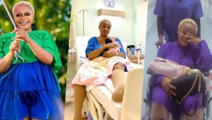 """""""Happiest Day Of My Life"""" – Uche Ogbodo Finally Discharged After Ten Days In Hospital (Video)"""