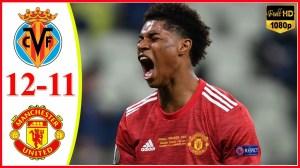 Manchester United vs Villarreal 1 - 1 (11−12 en) (Europa League Final Goals & Highlights 2021)
