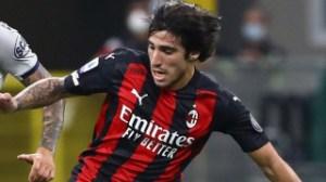 AC Milan midfielder Tonali talks up senior pair Ibrahimovic and Kjaer