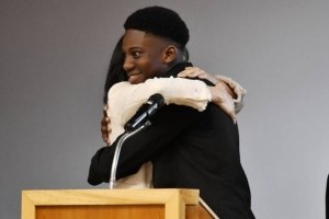 'I hope you didn't mind me cuddling your wife' – Nigerian boy who hugged Meghan Markle writes letter to Prince Harry (photos)