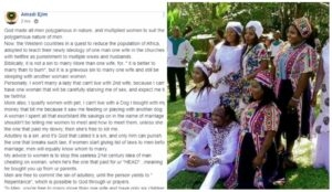 God created more women because he wanted men to be polygamous – Nigerian man