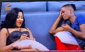 #BBNaija: What Laycon Told Erica Before Her HOT Romance With Kiddwaya [VIDEO]