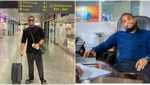 """""""So, If I Get Back To Nigeria Now, My Twitter Will Stop Working"""" – Alex Ekubo Laments"""