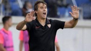 Sevilla coach Julen Lopetegui on Tottenham radar
