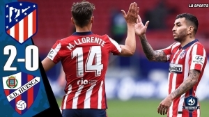 Atletico Madrid vs Huesca  2 - 0 (LA Liga  Goals & Highlights 2021)