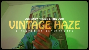 Curren$y & Harry Fraud - Vintage Haze Ft. Larry June (Video)