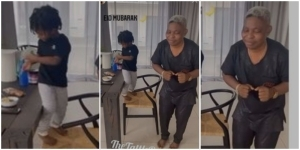 Wizkid's Son, Zion, Shows Off His Dance Skills Alongside His Dad