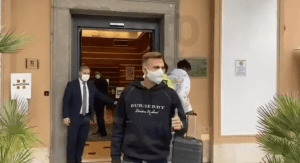 Real Madrid Player Mayoral Is Now In Rome To Sit His Medical