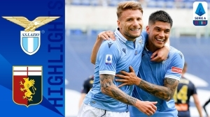 Lazio vs Genoa 4 - 3 (Serie A  Goals & Highlights 2021)