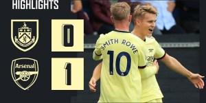 Burnley vs Arsenal 0 - 1 ( Premier League 2021 Goals & Highlights)