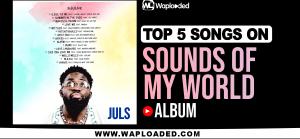 "Top 5 Songs in Juls ""Sounds Of My World"" Album"