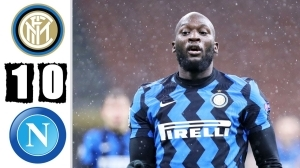 Inter vs Napoli 1 - 0 (Serie A Goals & Highlights)