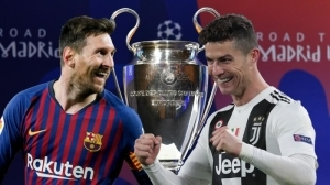 Ronaldo & Messi To Face Eachother As Champions League Groupstage Draw Is Out