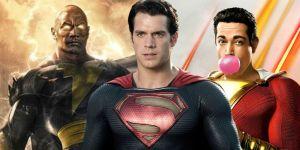 Shazam Star Asher Angel Thinks Cavill's Superman Could Beat Johnson's Black Adam