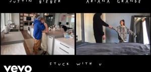 Ariana Grande & Justin Bieber - Stuck With U (Music Video)