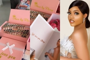 Nengi Fans In America Surprise Her With A Million Naira And Other Special Gifts (Video)