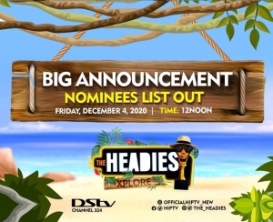 Headies Awards 2020: See Full List Of Nominees