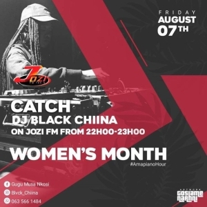 Black Chiina – JOZI FM Mix (Women's Month)