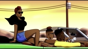 Krizbeatz – Pamela ft. Mr Eazi, Vanessa Mdee (Visualizer)