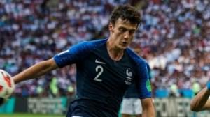 France defender Pavard admits being