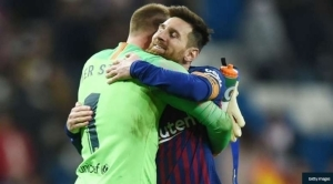 Ter Stegen Begs Lionel Messi To Stay At Barcelona