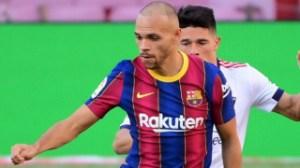 Barcelona accept West Ham offer for Braithwaite