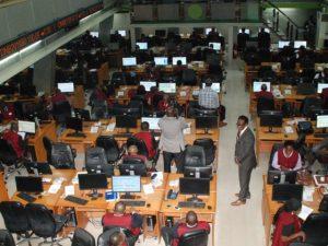 Stock market reverses gaining streak as index slides 0.90 per cent