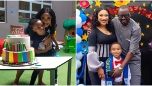 """""""I'm Raising A Son That Your Daughter Will Be Safe With"""" – Tonto Dikeh"""