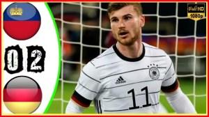 Liechtenstein vs Germany 0 − 2 (2022 World Cup Qualifiers Goals & Highlights)