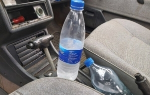 DO YOU KNOW; Leaving Bottled Water Inside Your Car Can Start A Fire (See How)