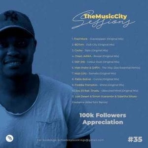 Echo Deep – The Music City Sessions #035 (100K Appreciation Mix)