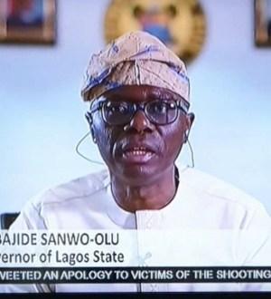 CCTV cameras were not taken away from the tollgate - Gov Sanwo-Olu