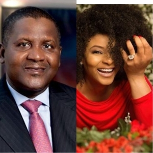 Dangote Pays A Surprise Visit To Late Ibidun Ighodalo's Family And Their Reaction Is Epic (Video)