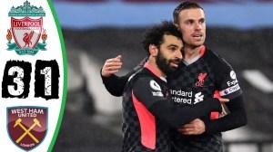 West Ham vs Liverpool 1 - 3 (EPL Goals & Highlights 2021)
