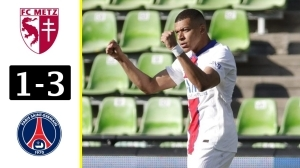 Metz vs PSG  1 - 3 (Ligue 1 Goals & Highlights 2021)