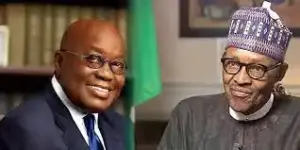 Ghanaian President, Nana Akufo-Addo apologizes to President Buhari over the demolition of Nigerian High Commission in Accra