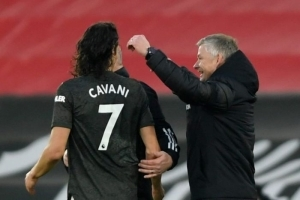 Cavani To Miss Man United's Clash Against Sheffield United