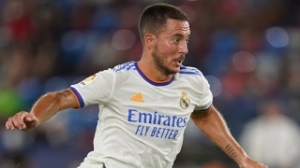 Real Madrid coach Ancelotti delighted with form of Hazard and Bale