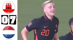 Gibraltar vs Netherlands 0 - 7 (World Cup Qualifier Goals & Highlights 2021)