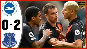 Brighton vs Everton 0 − 2 (Premier League  2021 Goals & Highlights)