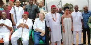 Lovely photos from the 73rd birthday of Nollywood heavyweight, Pete Edochie