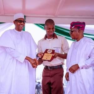 Meet Osun Student Who Got Buhari