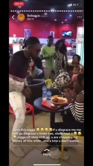 Man Disgraces Girlfriend After She Rejected His Proposal In Public (Video)