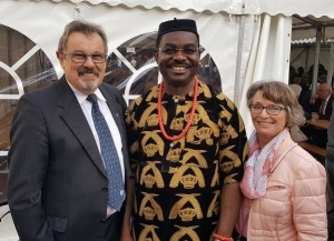 Nigerian Priest Leaves German Church After Receiving Death Threat (Photos)