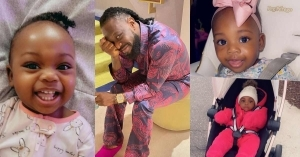 Timaya Celebrates Daughter, Maya As She Marks One-year-old Birthday