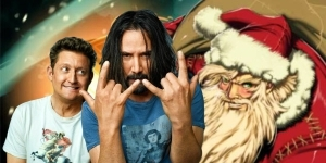 Bill & Ted 3's Alternate Ending Included The Gang Air-Guitaring With Santa